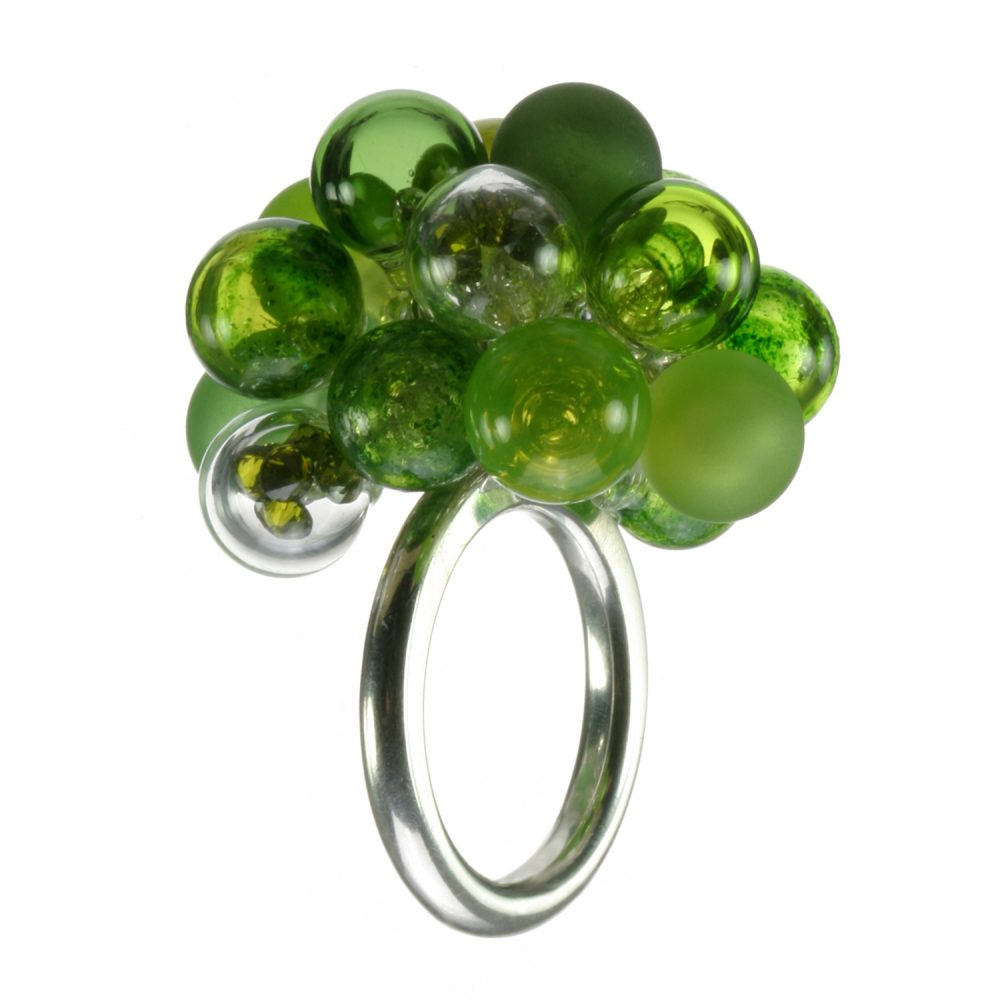 Aventurine Green Bubble Ring Charlotte Verity