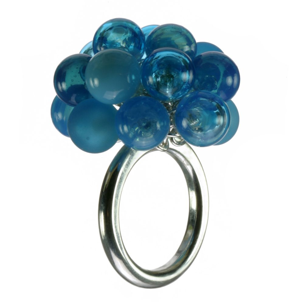 Turquoise Bubble Ring Charlotte Verity